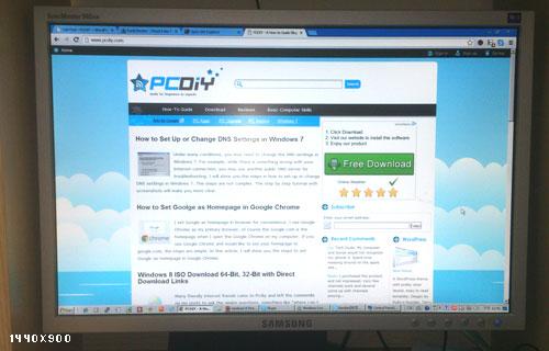 1440x900 Screen Resolution Windows 7